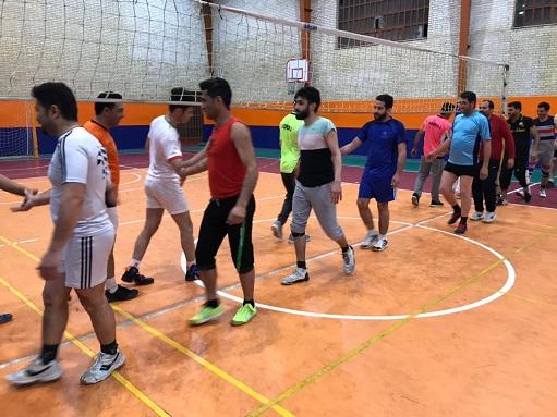 مسابقه والیبال