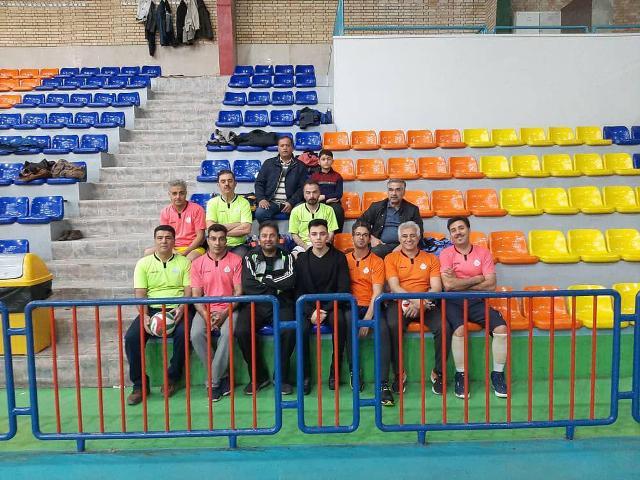 مسابقه واليبال در دانشگاه اصفهان