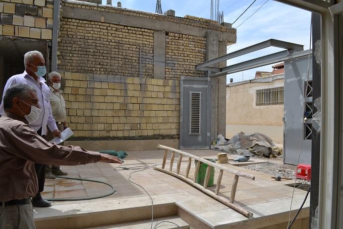 گزارش احداث ساختمان1400.1.28