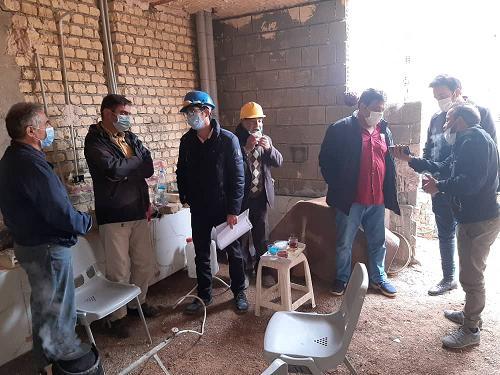 گزارش احداث ساختمان 99.12.8
