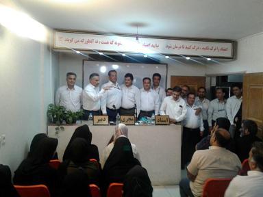 جشن رهايي مسافران محمد و  محمدرضا